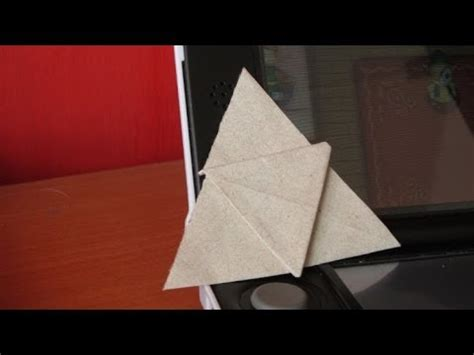 Origami Legend - hacer trifuerza de origami the legend of