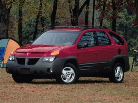 2001 pontiac aztek pricing ratings reviews kelley blue book