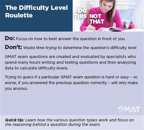 Mba Test Preparation by Do This Not That Avoid These Test Taking Mistakes