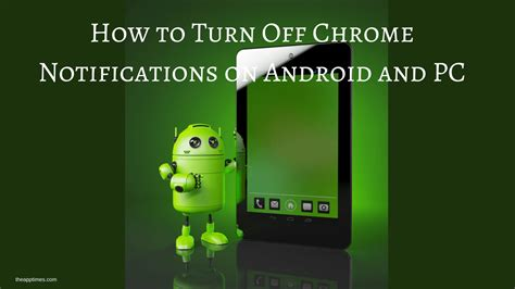 how to turn notifications on android how to turn chrome notifications on android and pc