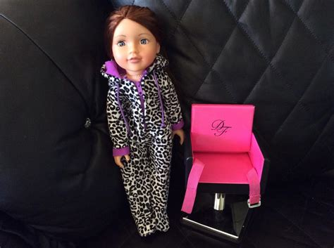 design a doll elle design a friend doll hair dressing chair and outfit dudley