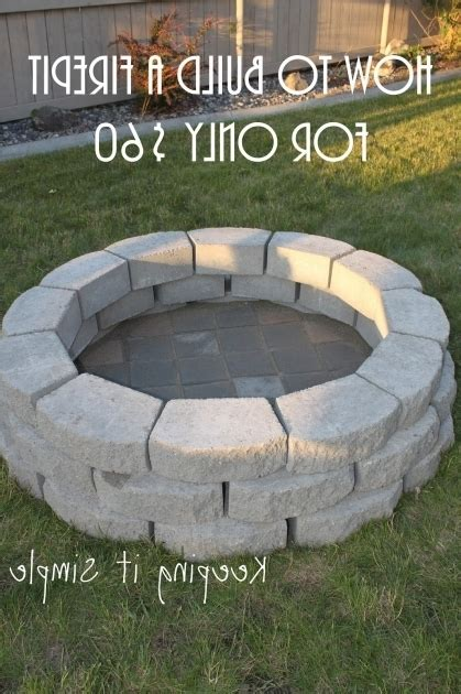 How To Build A Diy Pit For Only Keeping It Simple Crafts Cool Garden Ideas Do It Yourself Pits Pit Ideas