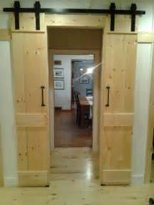 Barn Style Closet Doors Barn Door Style Interior Sliding Doors