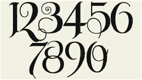 cool tattoo number fonts pinterest discover and save creative ideas