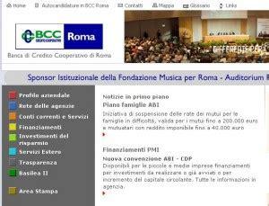 credito cooperativo roma on line conto tornaconto da bcc roma