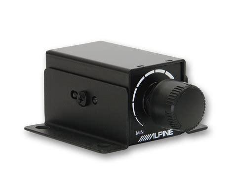 Alpine Bass Knob by Rux Knob Remote Bass Knob Car Audio Direct