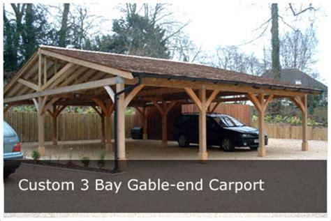 Carport Designs carports oak frame carport kit style diy