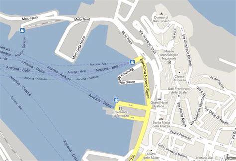 parcheggio porto di ancona a spasso per ancona