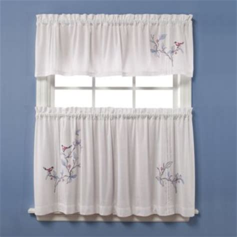 buy kitchen curtains valances from bed bath beyond