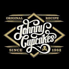 Topi Trucker Johnny Cupcakes Uzgy johnny cupcakes by christopher monro logos typography design johnny cupcakes