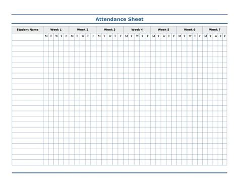 teachers attendance and roll book the 25 best attendance sheet template ideas on