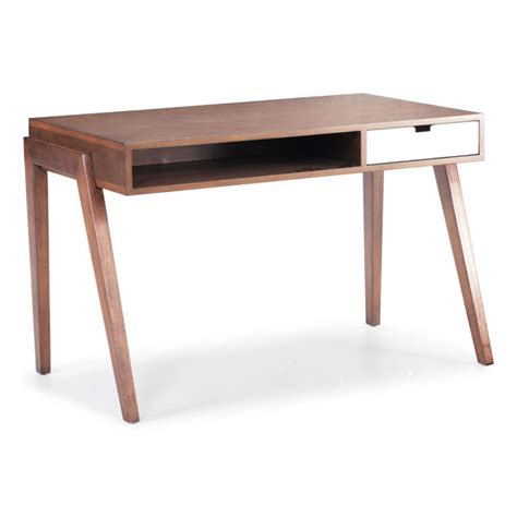 Emily Mid Century Modern Desk Moss Manor Mid Century Modern Office Desk