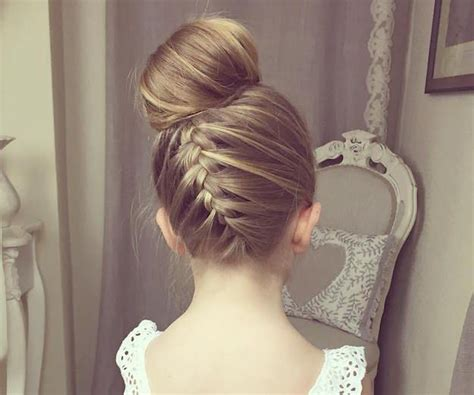 flower girl braided hairstyles for weddings upside down braided bun 7 prettiest hairstyles for