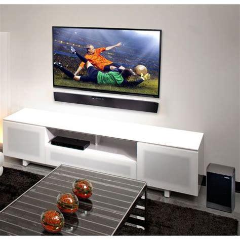 sound bar  tv wall mounted apartment ideas