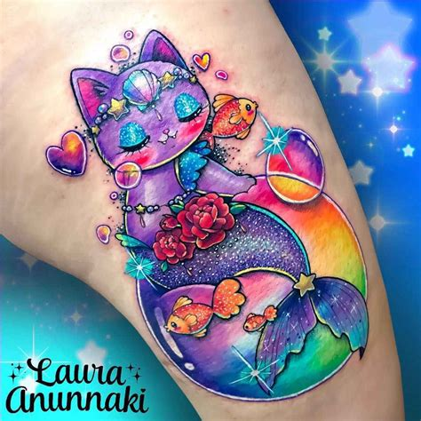 laura tattoo kawaii tattoos by annunaki