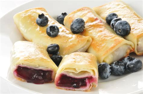 Tyler Florence Cheesecake Recipe by Blueberry Blintzes Recipe Dishmaps