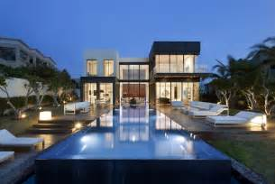 Modern Villas Modern Luxury Villas Designed By Gal Marom Architects