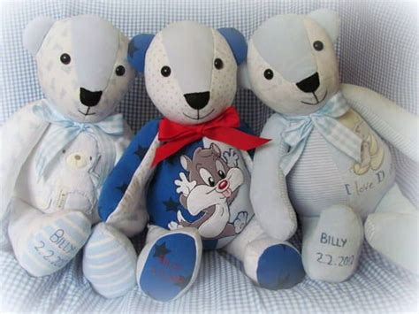 Handmade Memory Bears - handmade memory bears made from your own treasured
