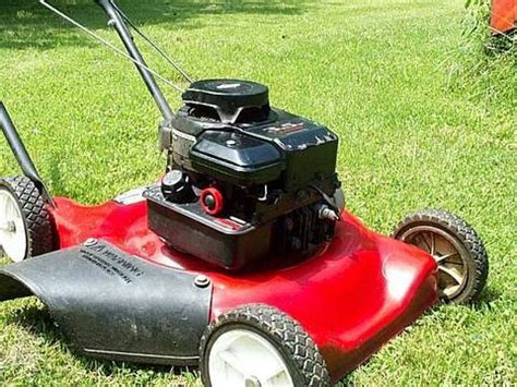 Lawnmower Misbehaving