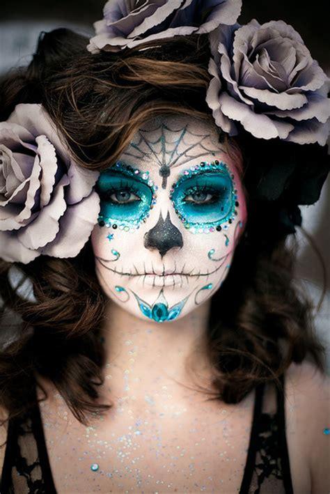 art, beautiful, beth, blue, day of the dead,   image #60503 on Favim.com