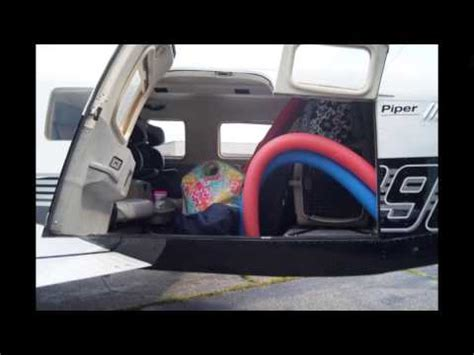 piper seat removal packing the piper saratoga