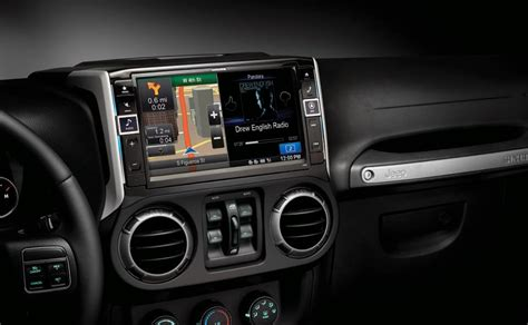 Jeep Gps Update Alpine Jeep Navigation System Completes Your Wrangler