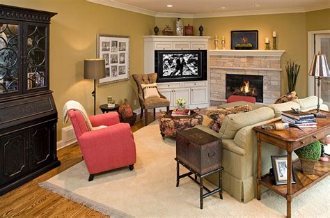 tv room layout living room corner decorating ideas tips space conscious