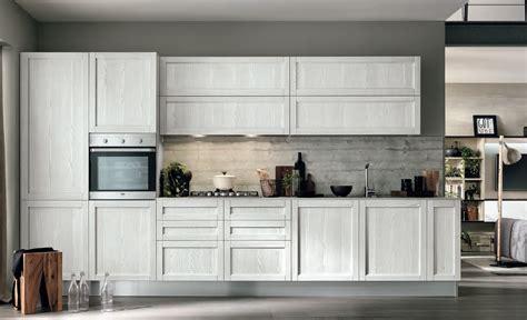 cucina moderna lineare cucina moderna vintage lineare ante legno essenza rovere