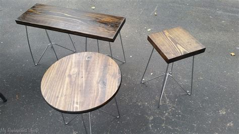 metal side table legs metal table legs diy wooden tables and plant stands