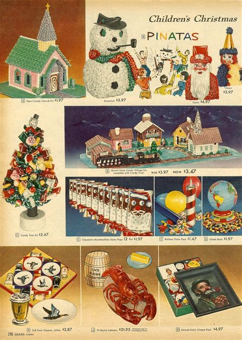 christmas ideas catalogues 34 best ornaments 1950 1960 images on