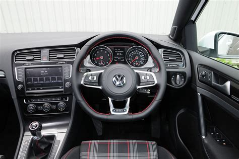 volkswagen golf interior term test review volkswagen golf gti pictures