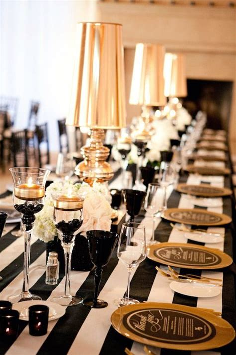 wedding themes gold and black 37 super elegant black and gold wedding ideas weddingomania