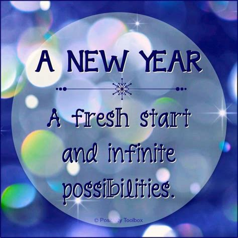 new year with fresh start positive quotes wise words