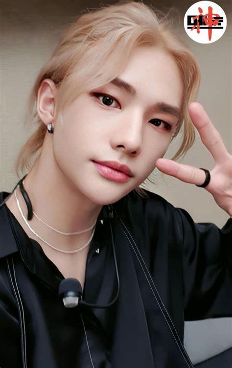pin  herrera ayosa  hyunjin   long hair styles