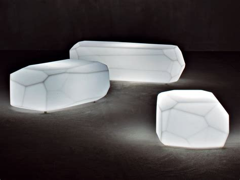 Casual Dining Room Furniture Translucent Polyethylene Seats Poufs And Tables From
