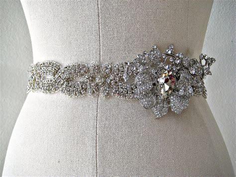 Wedding Accessories Belt by Bejeweled Wedding Accessories Bridal Belt Onewed