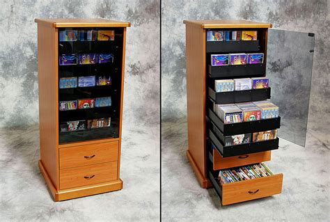 high capacity dvd storage cabinet media storage cabinets with drawers organize your blu