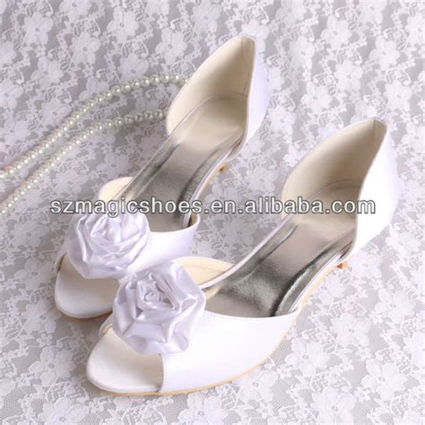 Wedding Shoes Small Heel by Flower Wedding Shoes Small Heel View Flower