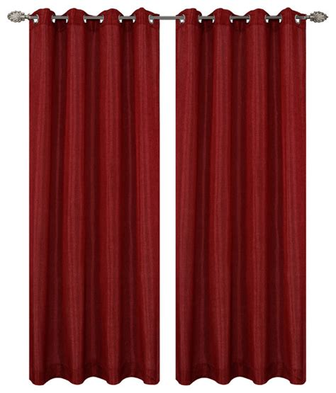 transitional curtains urbanest tweed drapery curtain panels with grommets