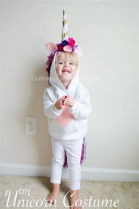 Handmade Costume Ideas - diy unicorn costume tutorial diy unicorn costume