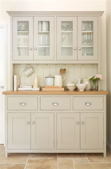 kitchen hutch furniture glazed dresser by devol kitchens i kitchen dressers