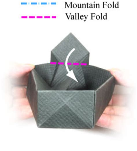 Origami Coffin - how to make an origami coffin for page 15