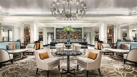 star luxury hotel lobby lounge  langham hong kong