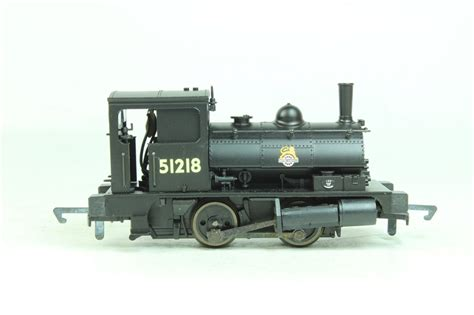 hornby pug hattons co uk hornby r2093a ln pug 0 4 0st saddle tank in br black 51218 pre owned
