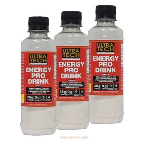 energy drink y embarazo ultra tech energy pro drink caja x 20 unidades energia