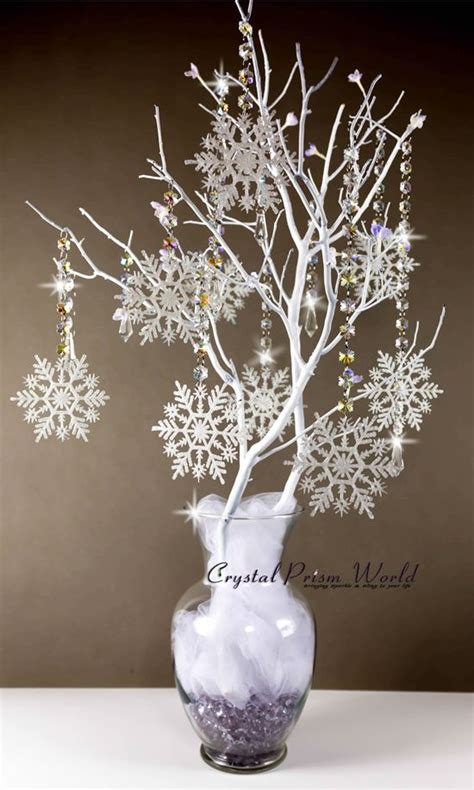 best 25 snowflake centerpieces ideas on pinterest