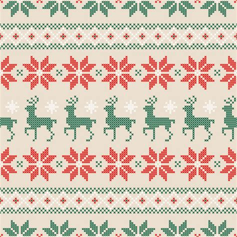 xmas pattern vector knit free vector download 92 free vector for commercial