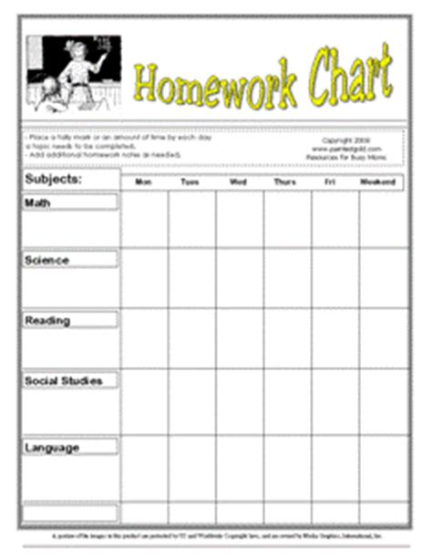 printable homework schedule printable homework calendar classroom ideas pinterest