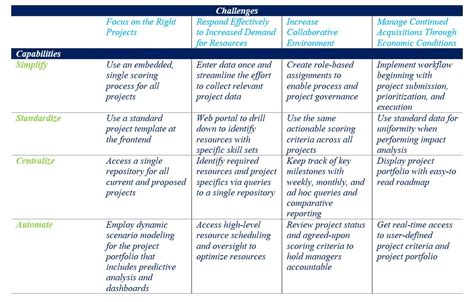 project prioritization criteria template investment prioritization and planning iasaglobal