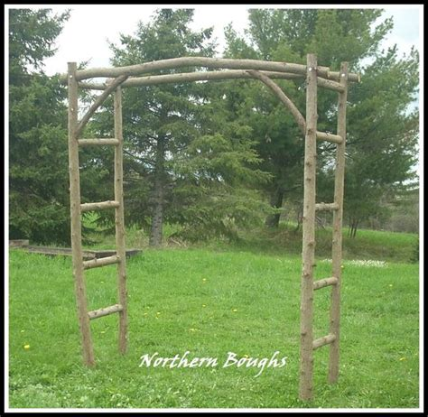Arch Vs Sanaa S White Garden Large White Cedar Wedding Arch Kit Northern Boughs
